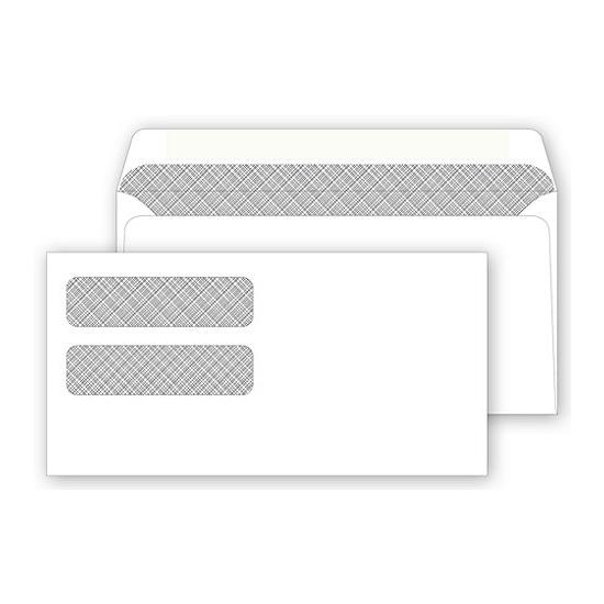 [Image: Double Window Envelope for Business Form & Invoice]