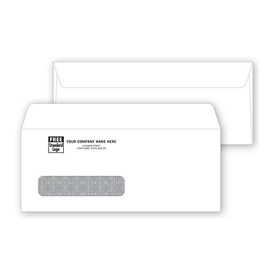[Image: Single Window Confidential Envelope 8 3/4 X 3 5/8]