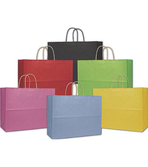 [Image: Multi Colored Varnish Stripe Shopping Bags For Supplies & Packaging]