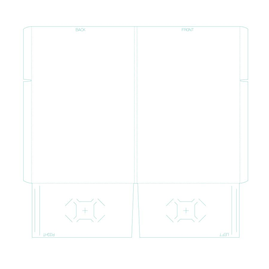"[Image: Presentation Folders - 9.5"" x 14.5"" - Two Pockets With Reinforced Edge]"