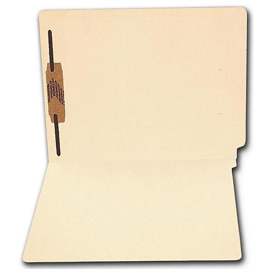 [Image: End Tab Full Cut Manila Folder, 11 Pt, One Fastener]