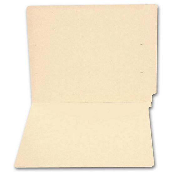 [Image: End Tab Full Cut Manila Folder, 14 Pt, No Fastener]