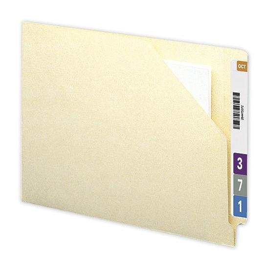 [Image: Smead End Tab File Jacket W/ Antimicrobial Protection, 11 PT]