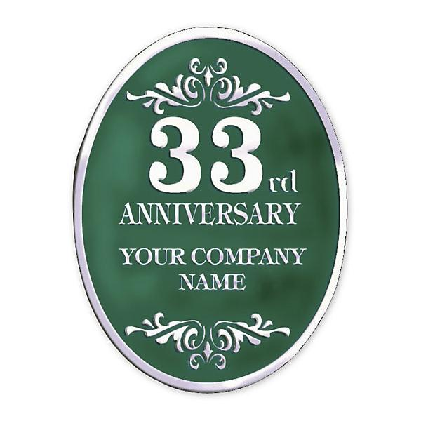 [Image: Personalized Anniversary Seal Rolls SE-32]