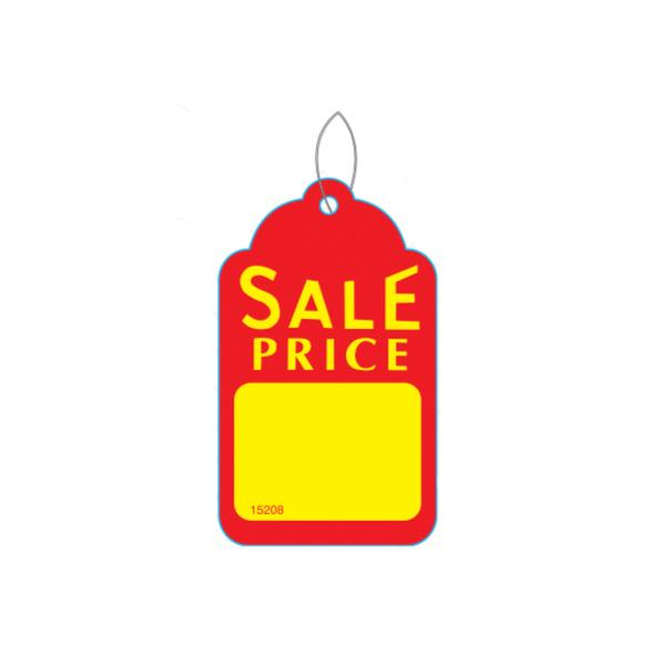 [Image: Small Sale Price Tag - Yellow & Red]
