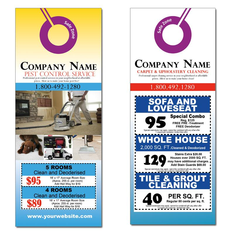 [Image: Carpet Cleaning Door Hangers]