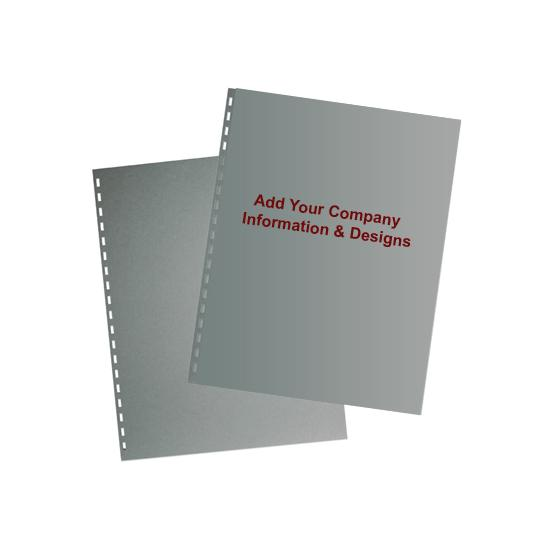 [Image: Custom Printed Tax Return Folder, Front and back Cover Separate]
