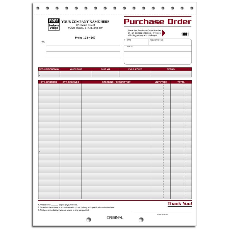 [Image: Purchase Order Compact Form]