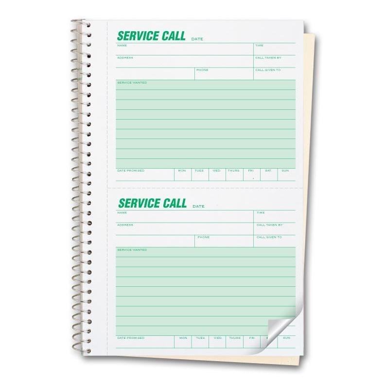 [Image: Phone Message Book 2 Part Carbonless]