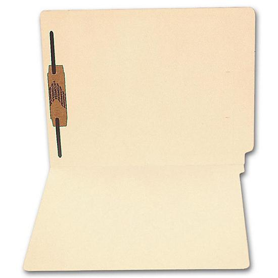 [Image: End Tab Full Cut Manila Folder, 14 Pt, One Fastener]