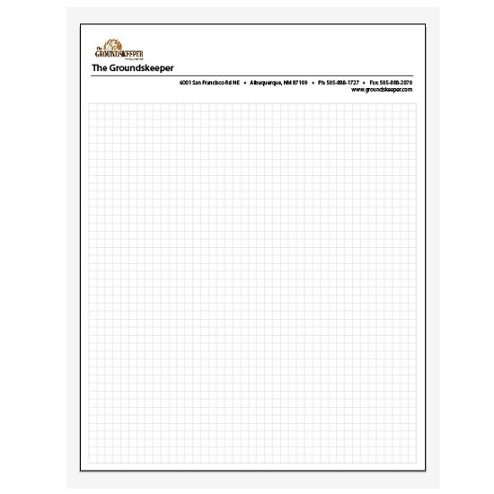 [Image: Graph Pad with 5mm Grid - Size 8.5 x 11]