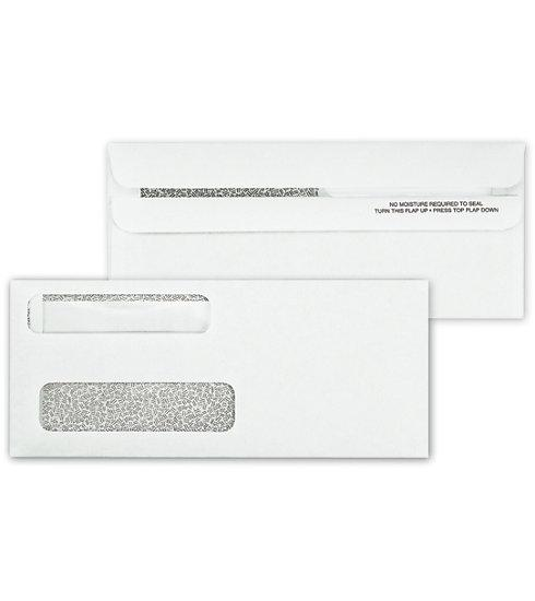 [Image: Double Window Envelope Self Seal 8 5/8 X 3 5/8]