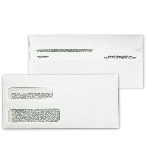 [Image: Double Window Confidential Self Seal Envelope]