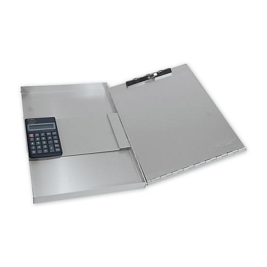 [Image: Large Portable Desk With Calculator]