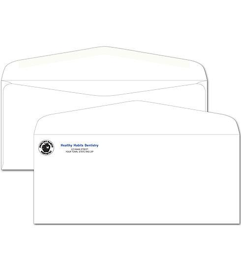 [Image: No. 10 Envelope, Imprinted, No Window]