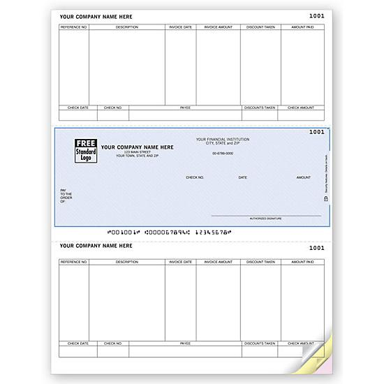 [Image: Sage 50 Laser Middle Checks, Accounts Payable, Sage50 Compatible DLM226]