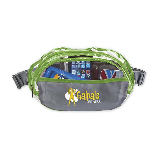 [Image: Clear Fanny Pack - Personalized]