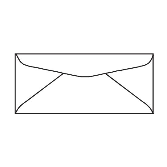 "[Image: 3 5/8 x 6 1/2 Custom Printed Envelopes | #6 3/4"" Regular Corner Card]"