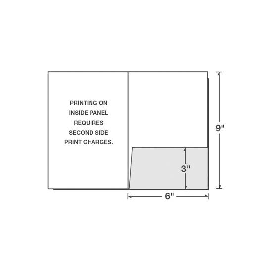 "[Image: 6"" x 9"" Right Pocket Presentation Folder]"
