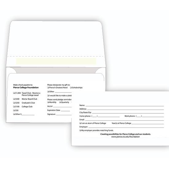 [Image: Remittance Envelope With Perforation]