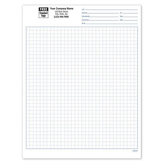 "[Image: GEN0205, Graph Paper 1/4"", Padded]"