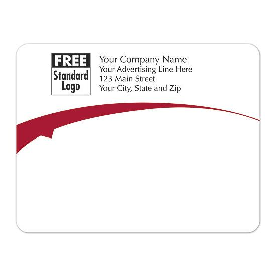 "[Image: Shipping Label - Rectangular Return Address Label Personalized  5 x 3 7/8""]"