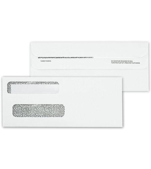 [Image: Double Window Confidential Envelope, Self-Seal]