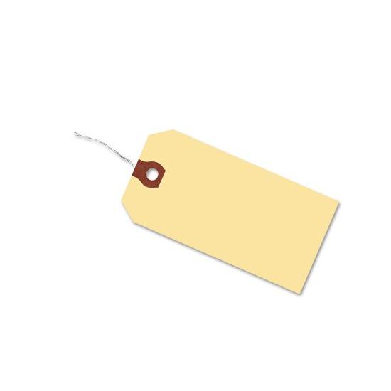 "[Image: Manila Tags With Wire or String 3 3/4 x 1 5/8""]"