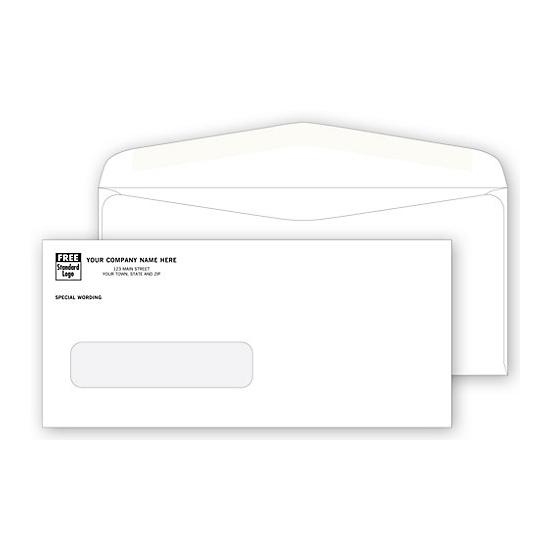 [Image: Single Window Envelope for Invoices & Business Forms]