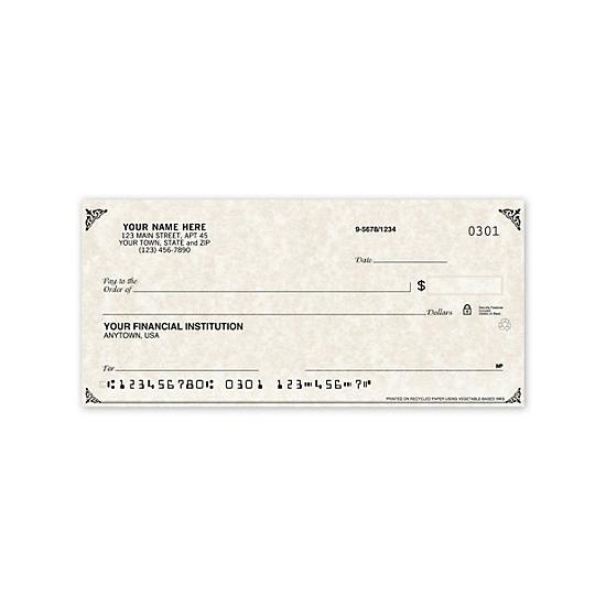 [Image: Parchment Personal Checks - Personalized & Printed for your Bank Account]