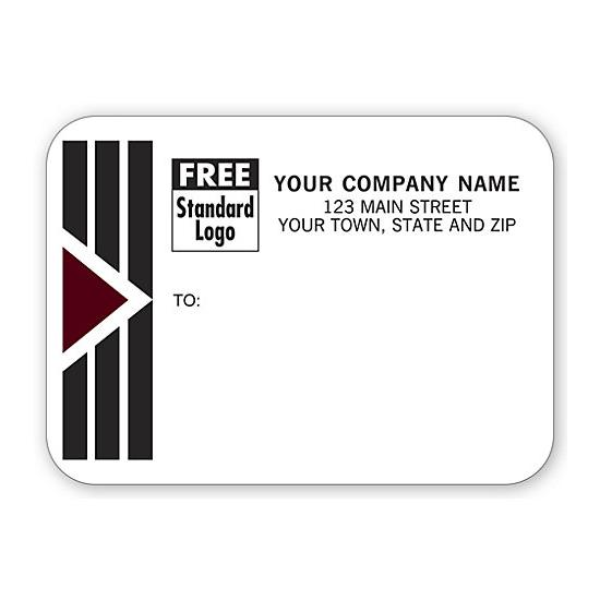 [Image: Shipping Label - Return Address Label, Template on a Roll]
