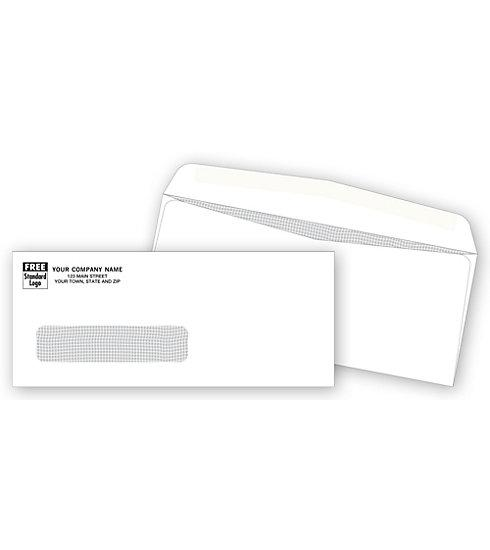 [Image: Single Window Confidential Envelope - Imprinted]