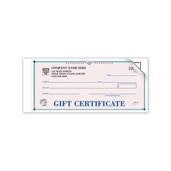 [Image: High Security St. Croix Gift Certificates - Individual Sets]