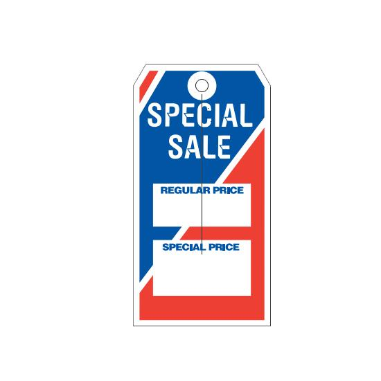[Image: Special Sale Retail Price Tags]