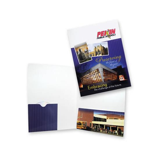 [Image: Presentation Pocket Folder with Built-in CD Disc Sleeve]