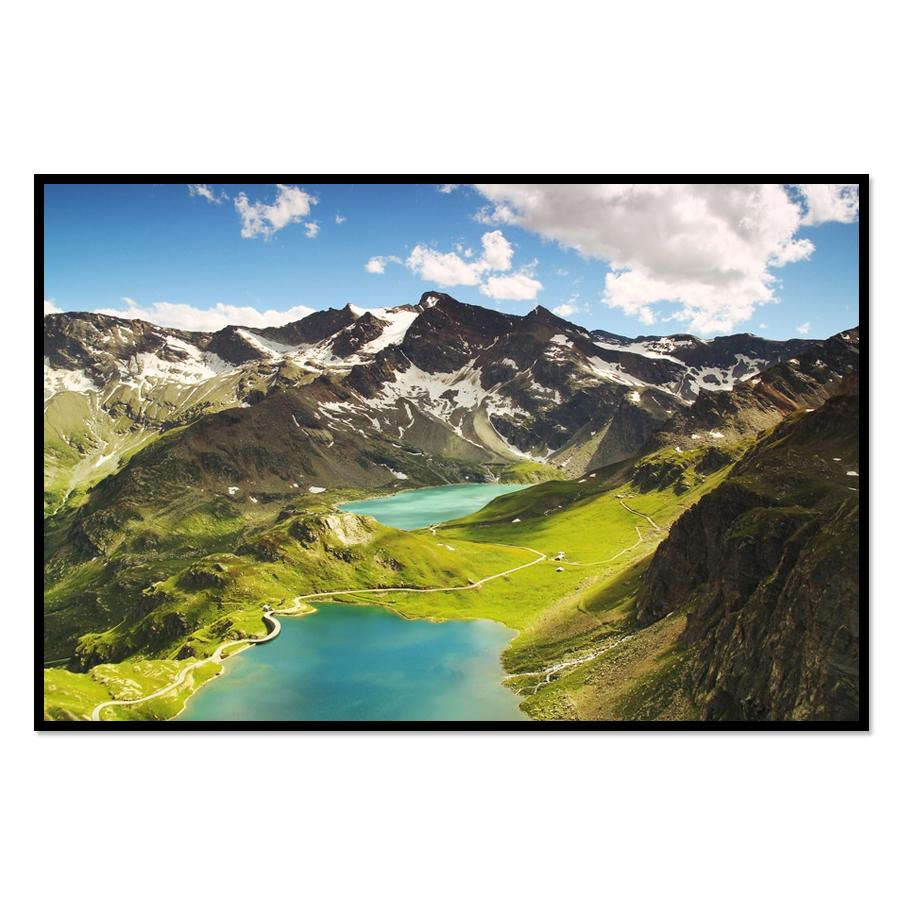 [Image: Landscape Mountain Nature Wall Poster Print]
