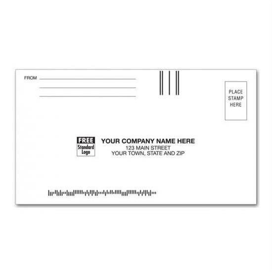 [Image: 3 7/8 x 7 1/2 Custom Printed Envelopes | #7 3/4 Regular Business Reply Envelope]