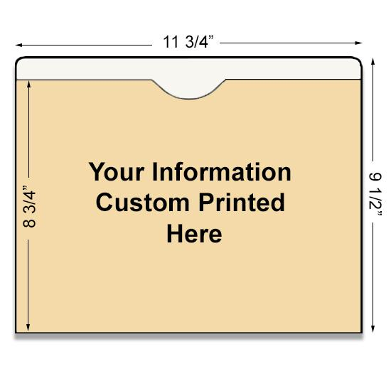 [Image: Custom Printed Job Folder]