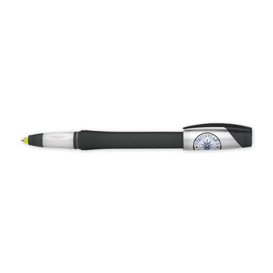 [Image: Duo-Twist Pen Highlighter - Personalized]