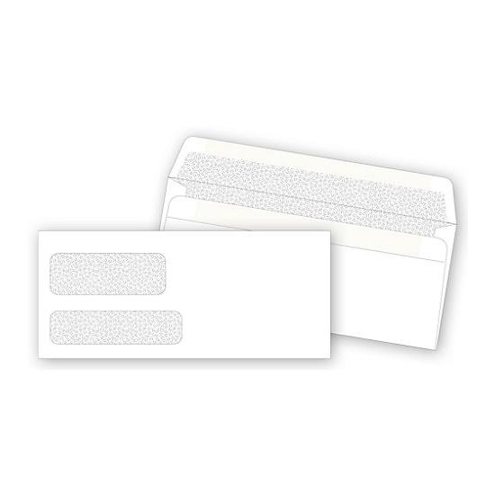 [Image: Double Window Confidential Envelope, Self-Seal For Invoices & Business Forms]