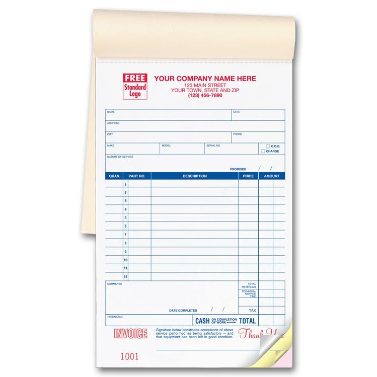 general invoice forms receipts carbonless printing designsnprint
