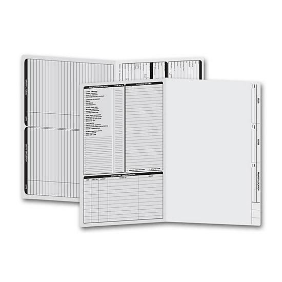 [Image: Real Estate Folder, Left Panel List, Legal Size, Gray]