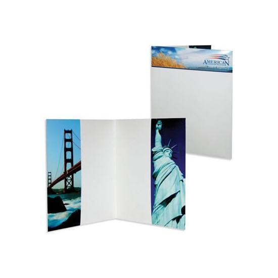 [Image: Presentation Folder with Two Vertical Pockets]