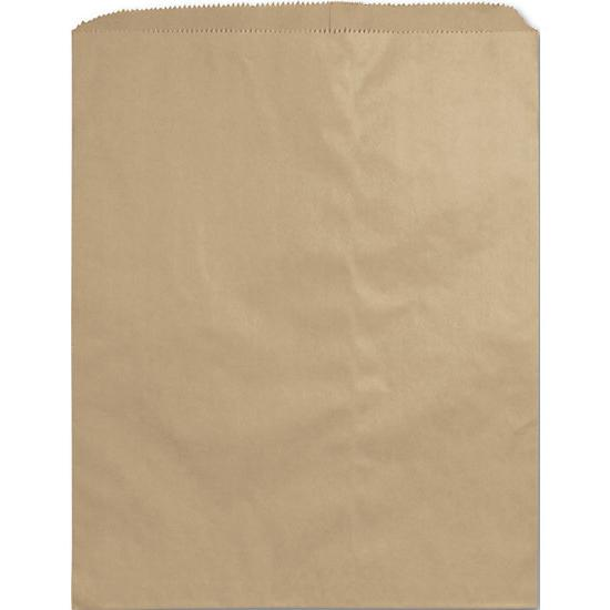 "[Image: Large Kraft Paper Merchandise Bag, 12 X 15"", Retail Shopping Bags]"
