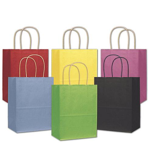 [Image: Varnish Stripe Shoppers Medium paper Bags]